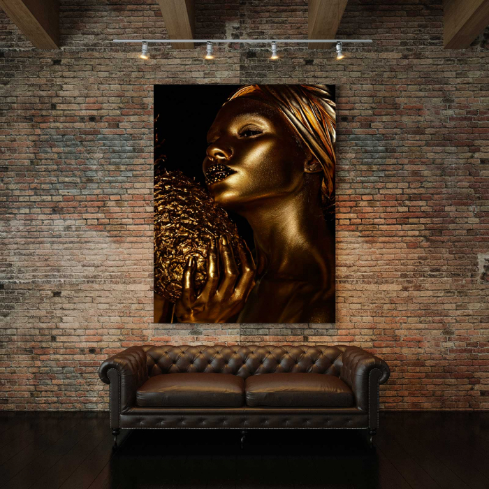 Tablou Canvas - Girl On Fire 2