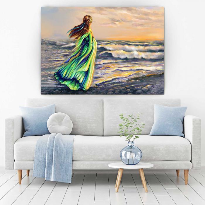 Tablou Canvas - Girl On The Beach [1]