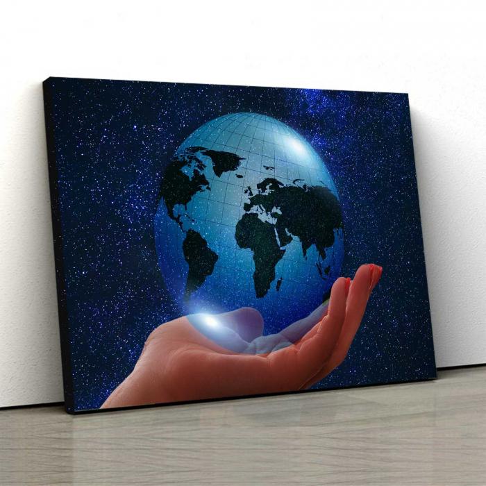 Tablou Canvas - Globul Pamantesc 0