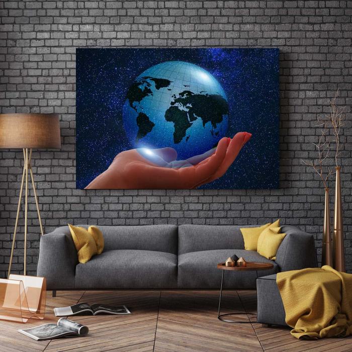 Tablou Canvas - Globul Pamantesc 2
