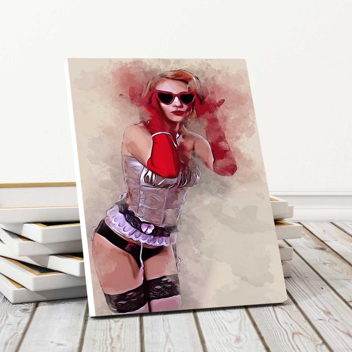 Tablou Canvas - Go Girl 0