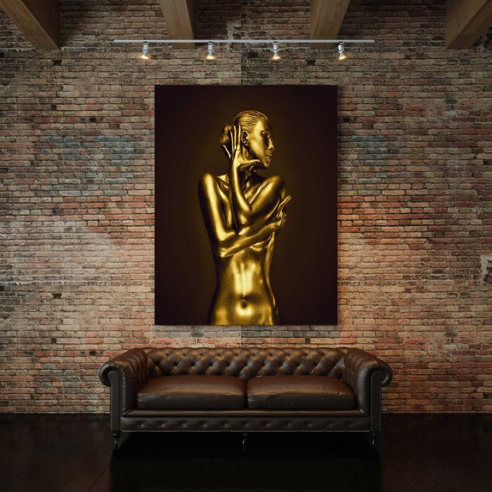 Tablou Canvas - Gold Nude 4 [2]