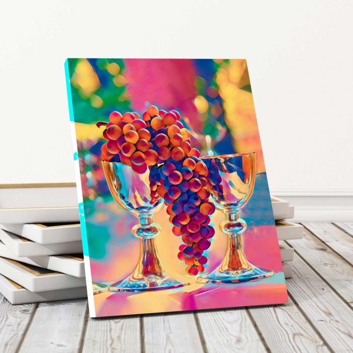 Tablou Canvas - Grapes 0
