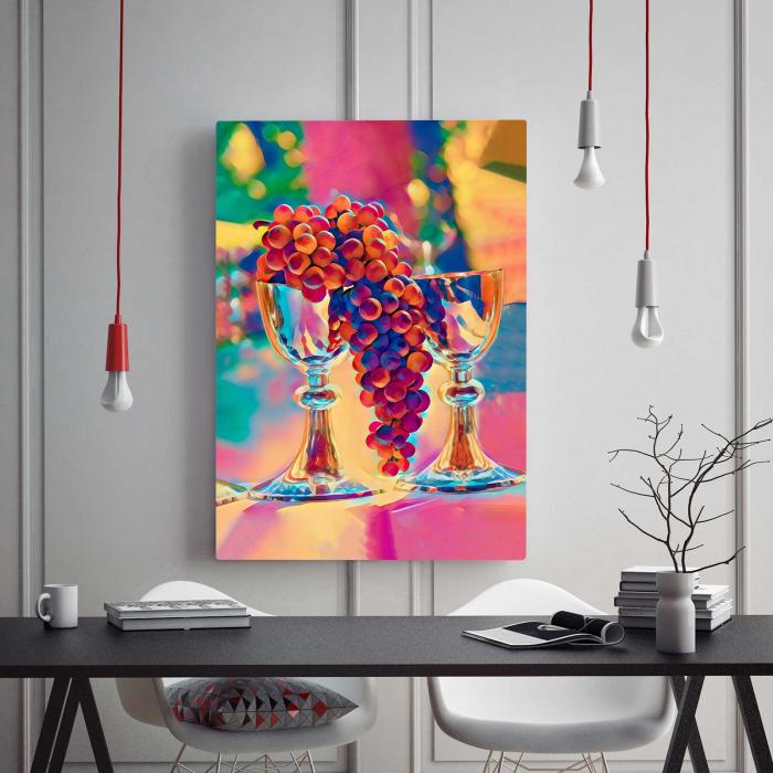 Tablou Canvas - Grapes 1
