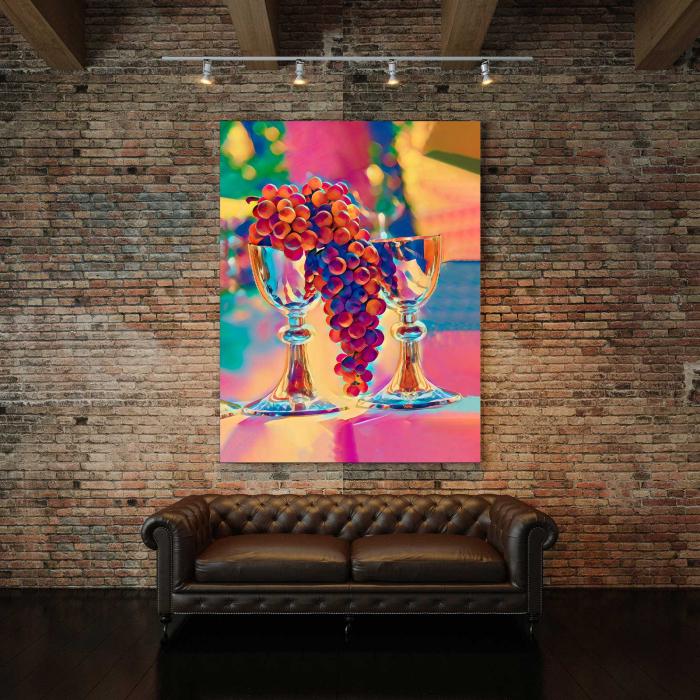 Tablou Canvas - Grapes 2