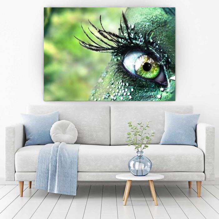 Tablou Canvas - Green Eyes [1]