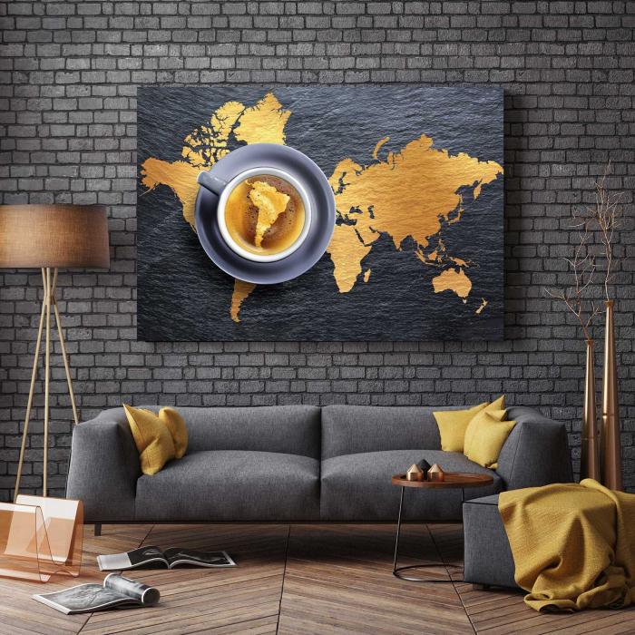 Tablou Canvas - Harta Lumii 2