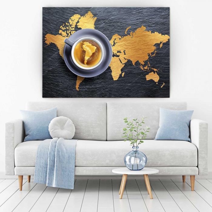 Tablou Canvas - Harta Lumii 1