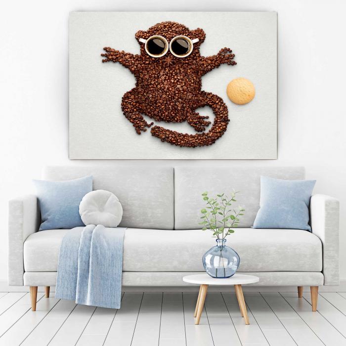 Tablou Canvas - Hey, Monkey [1]