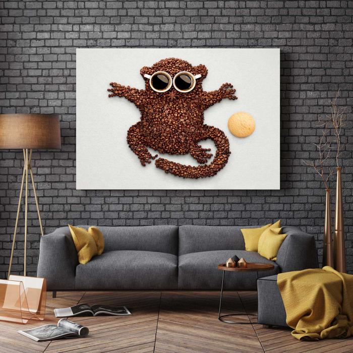 Tablou Canvas - Hey, Monkey [2]
