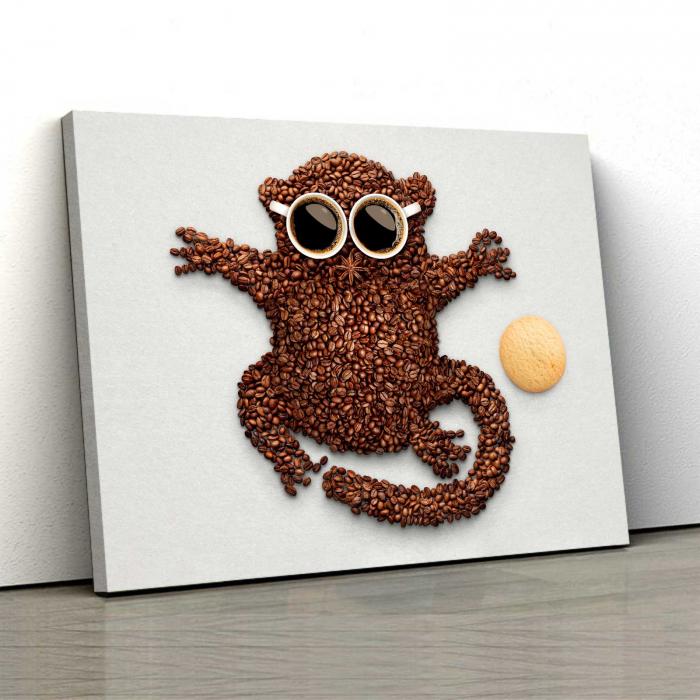 Tablou Canvas - Hey, Monkey [0]
