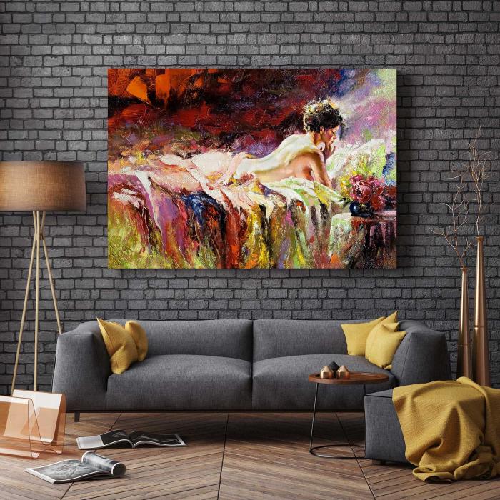 Tablou Canvas - Ilustratie Fata [2]