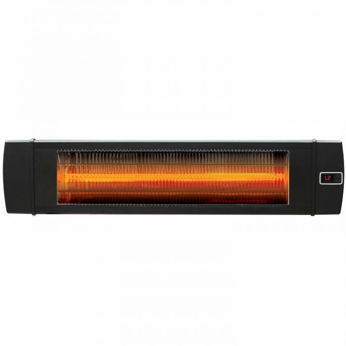 Incalzitor infrarosu fibra carbon Dreptunghiular negru, 4 trepte, 2000 W, 880 x 200 x 85 mm [4]
