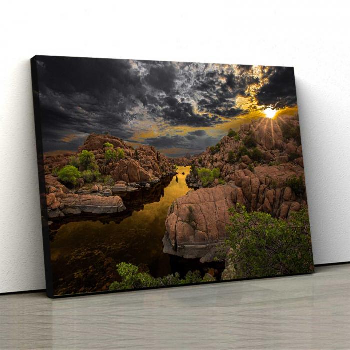 Tablou Canvas - Iubesc Natura 0