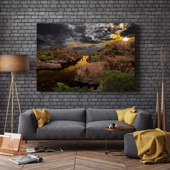 Tablou Canvas - Iubesc Natura 2