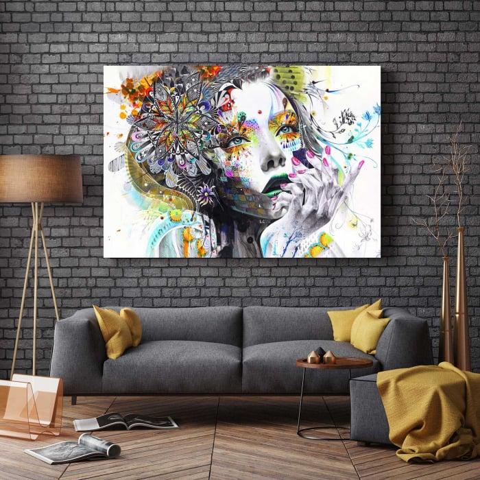 Tablou Canvas - Lady [2]