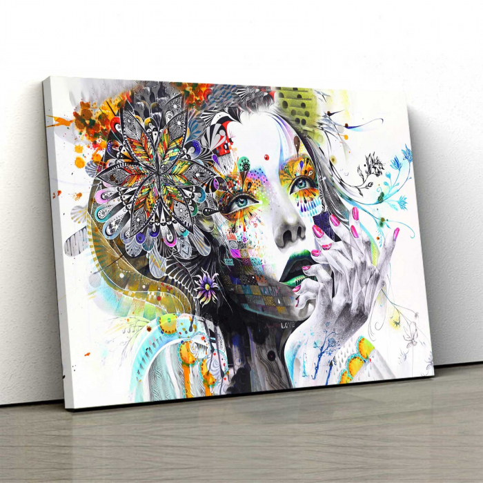 Tablou Canvas - Lady 0
