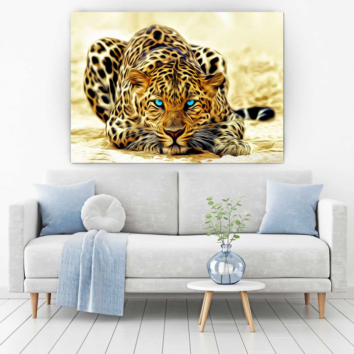 Tablou Canvas - Leopard [1]
