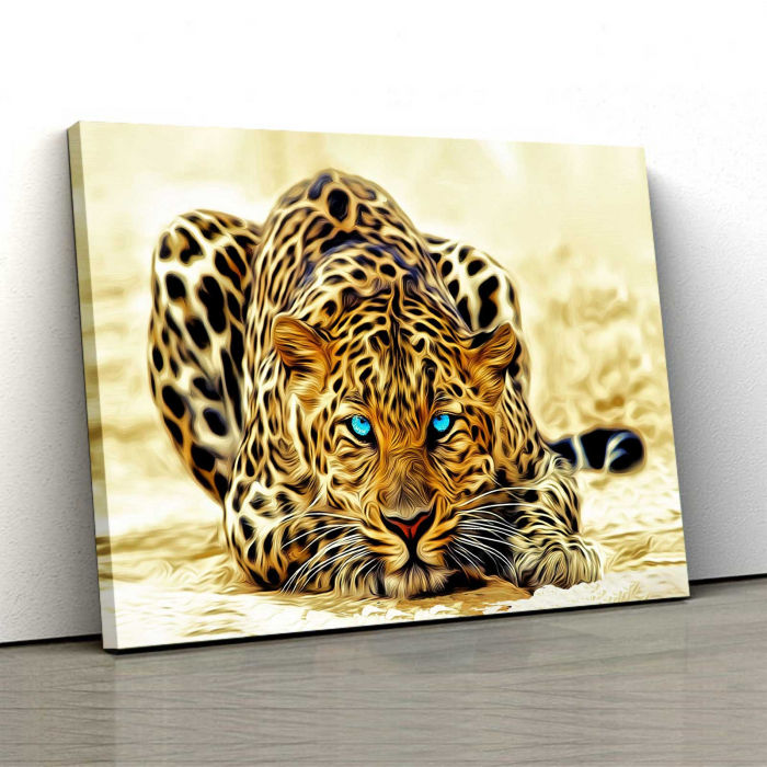Tablou Canvas - Leopard [0]