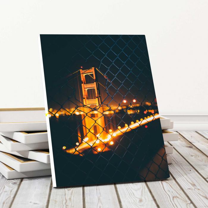 Tablou Canvas - Light Bridge 0