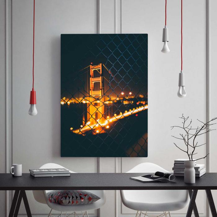 Tablou Canvas - Light Bridge 1