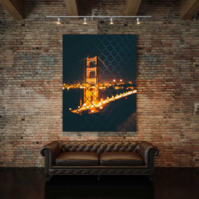 Tablou Canvas - Light Bridge 2