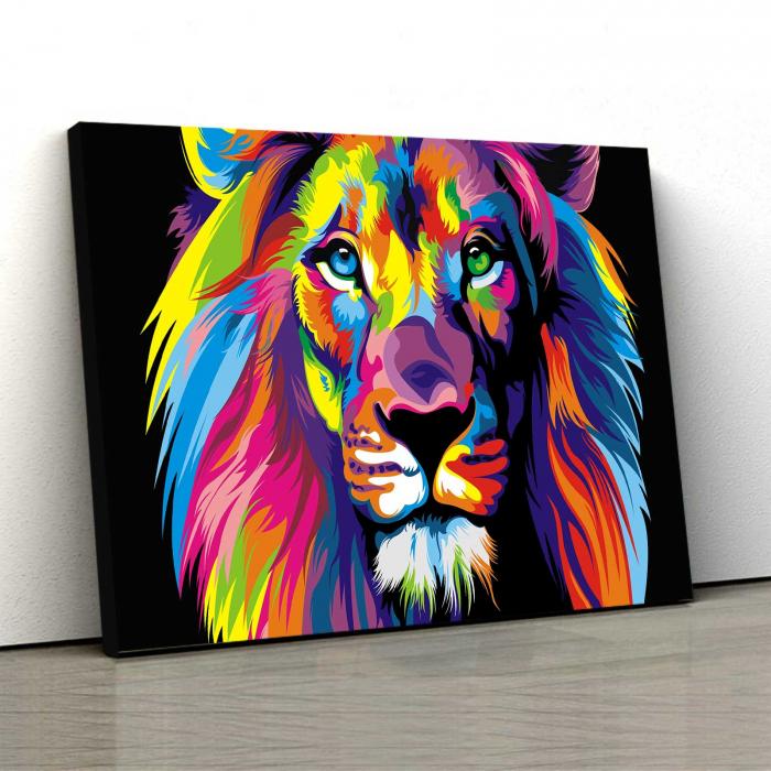 Tablou Canvas - Lion [0]