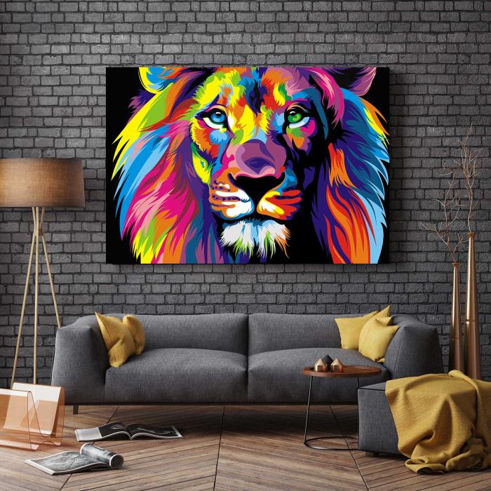 Tablou Canvas - Lion [2]