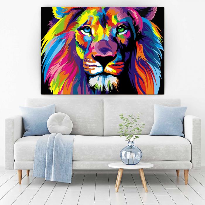 Tablou Canvas - Lion [1]