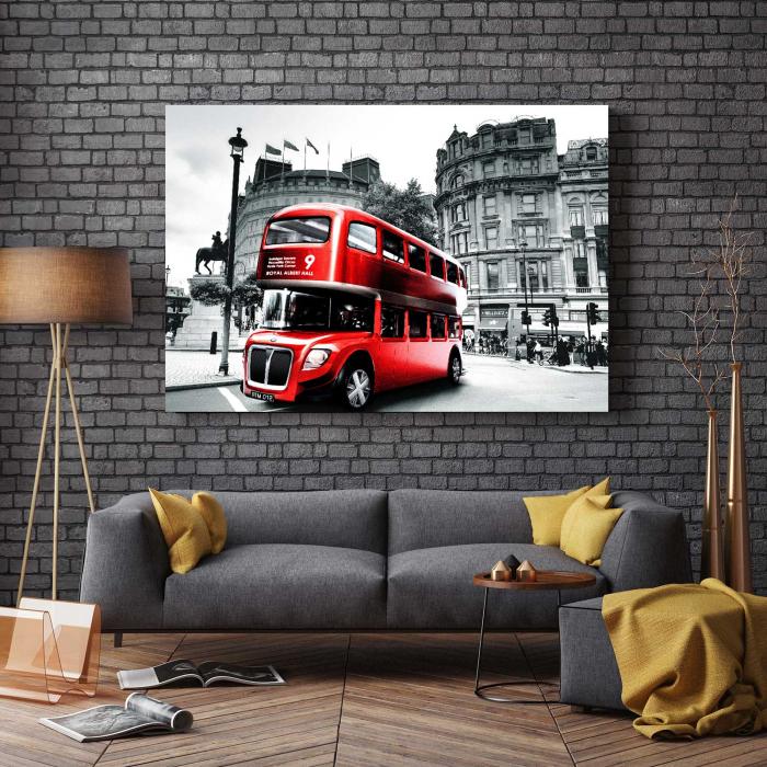 Tablou Canvas - London Bus [2]