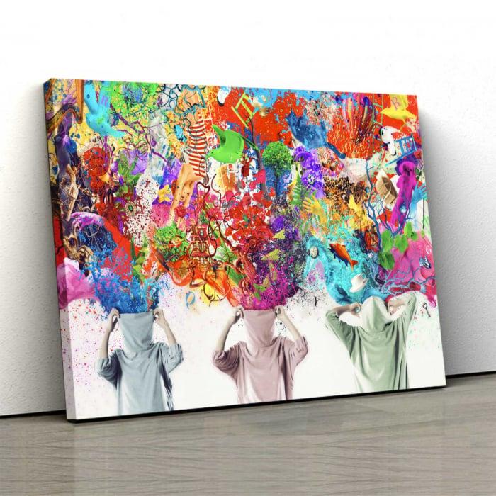 Tablou Canvas - Look At Me 0