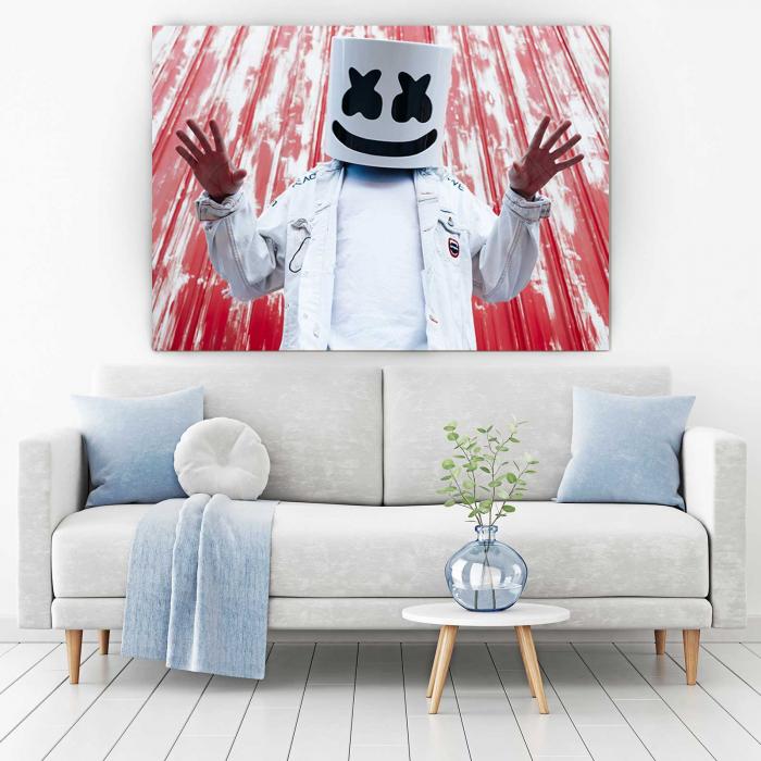 Tablou Canvas - Marshmello [1]