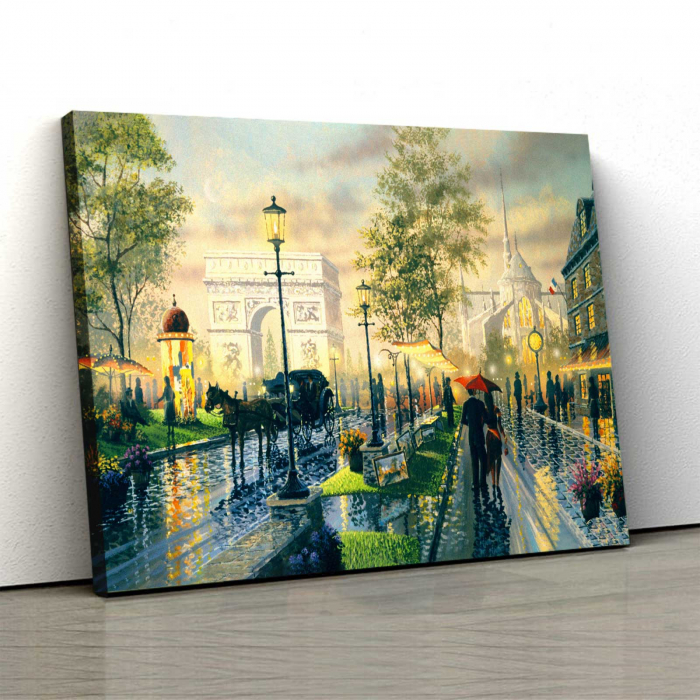 Tablou Canvas - Micul Paris [0]