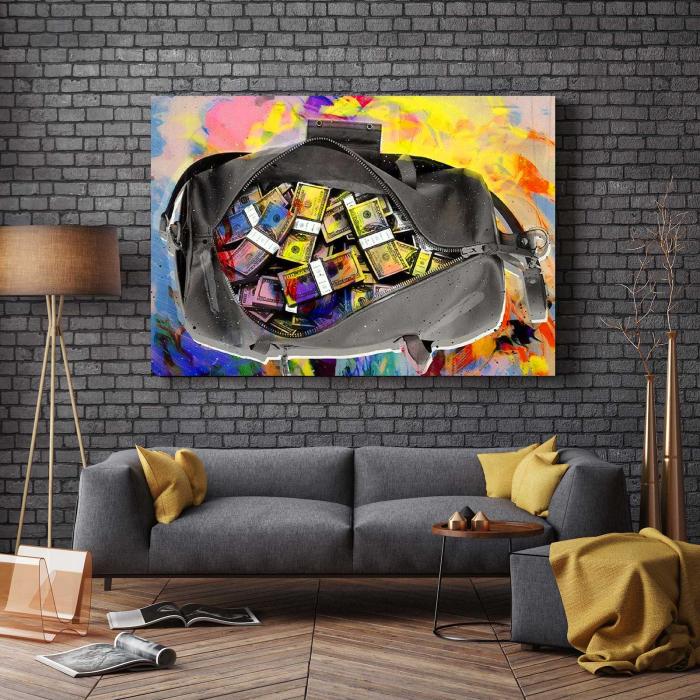 Tablou Canvas - Money Bag 2