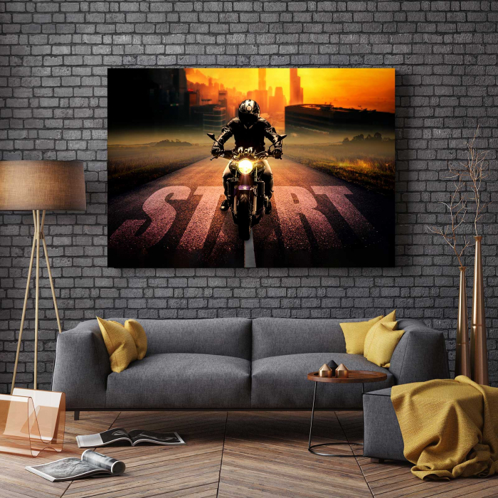 Tablou Canvas - Motocicleta 2