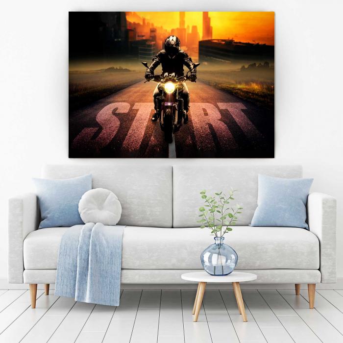 Tablou Canvas - Motocicleta 1
