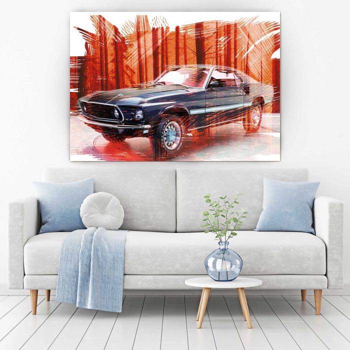 Tablou Canvas - Mustang 1