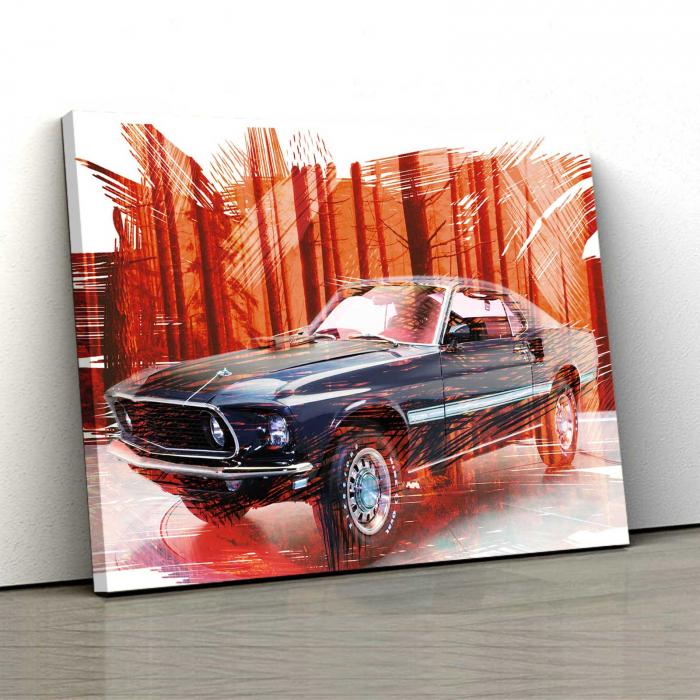 Tablou Canvas - Mustang 0