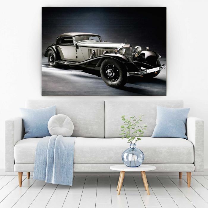 Tablou Canvas - Old Mercedes [1]