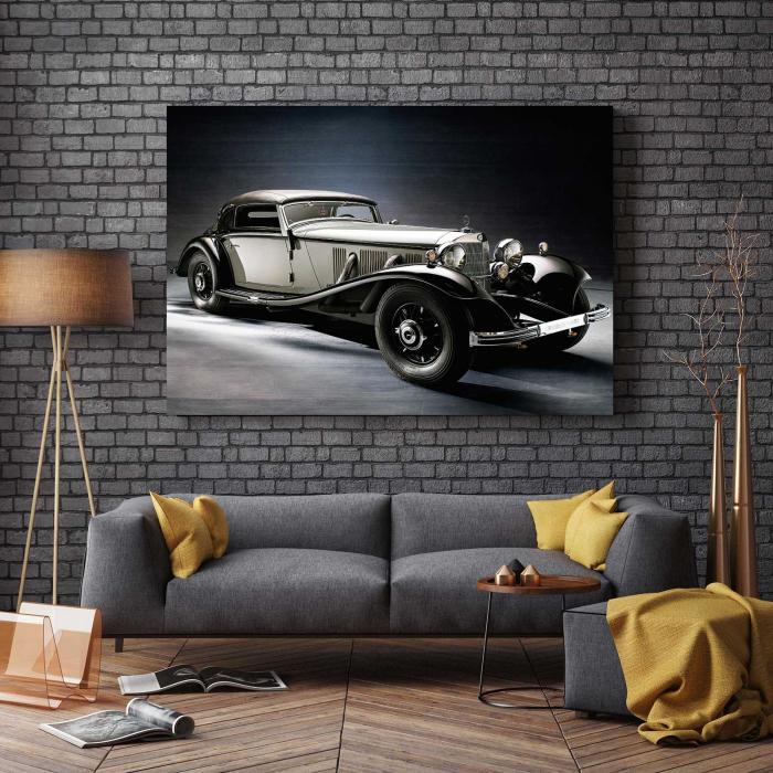Tablou Canvas - Old Mercedes [2]