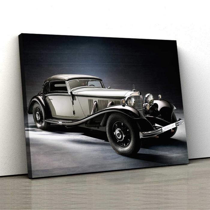 Tablou Canvas - Old Mercedes [0]