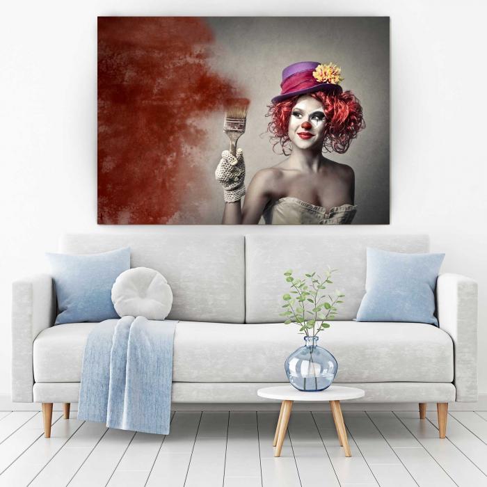 Tablou Canvas - Paint Girl [1]
