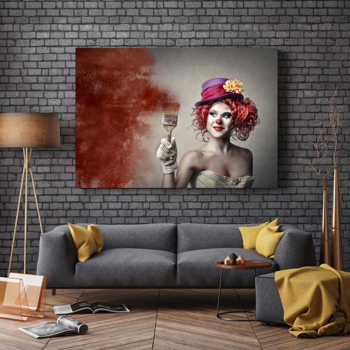 Tablou Canvas - Paint Girl [2]