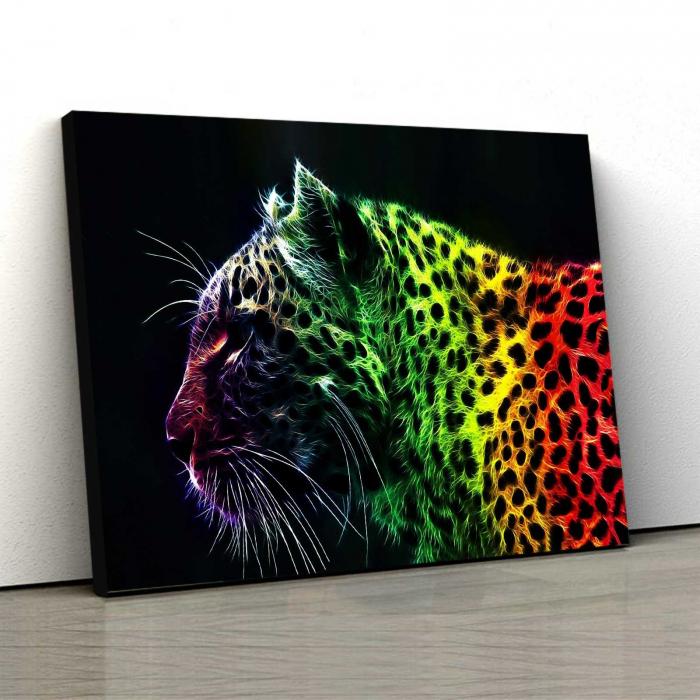 Tablou Canvas - Pantera Colorata [0]