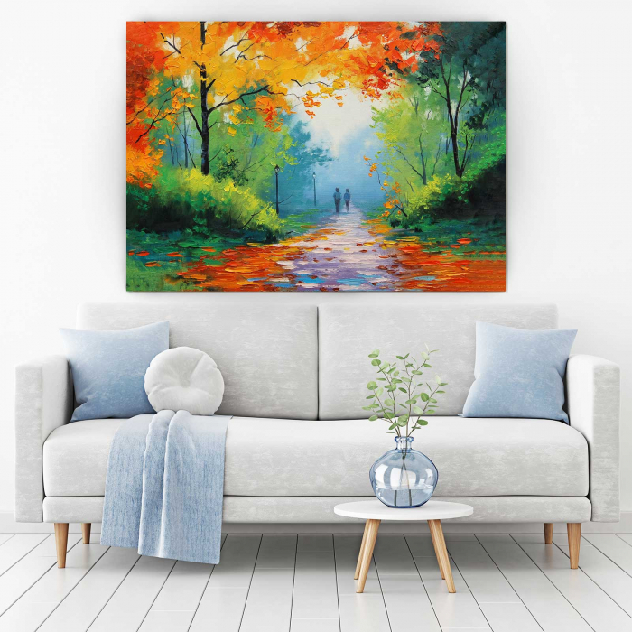 Tablou Canvas - Pastel De Toamna 1