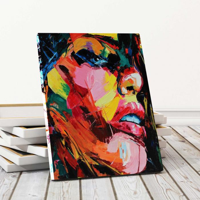 Tablou Canvas - Pictura Abstractă 0