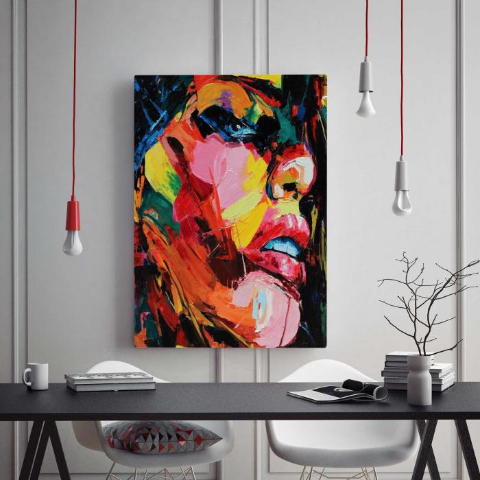 Tablou Canvas - Pictura Abstractă 1