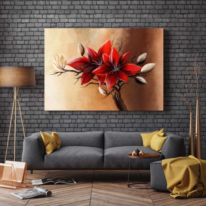 tablou-canvas-picturi-flori-moderne-mari [2]