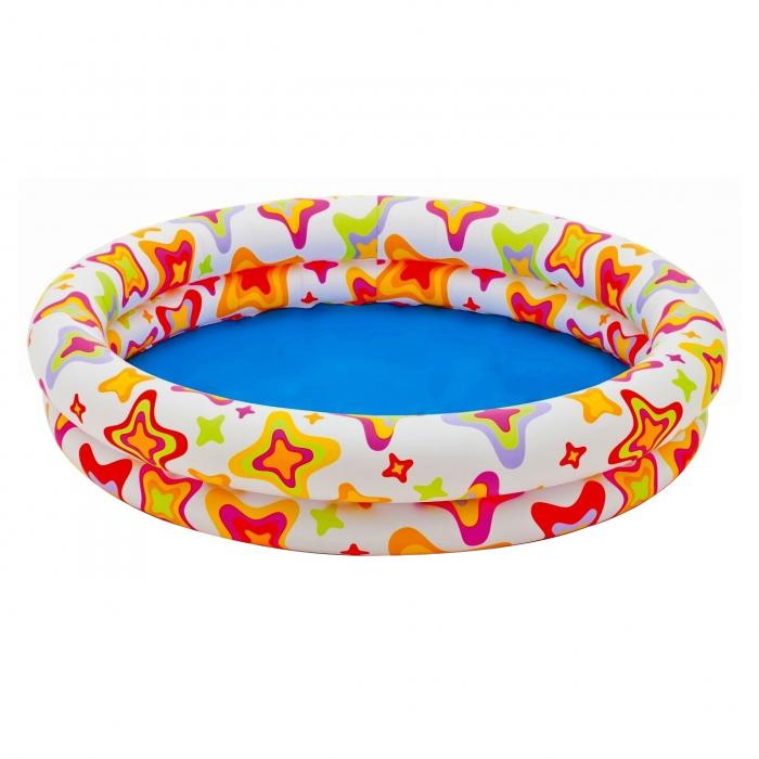 Piscină gonflabilă Dico, pentru copii, 122 x 25 cm [0]