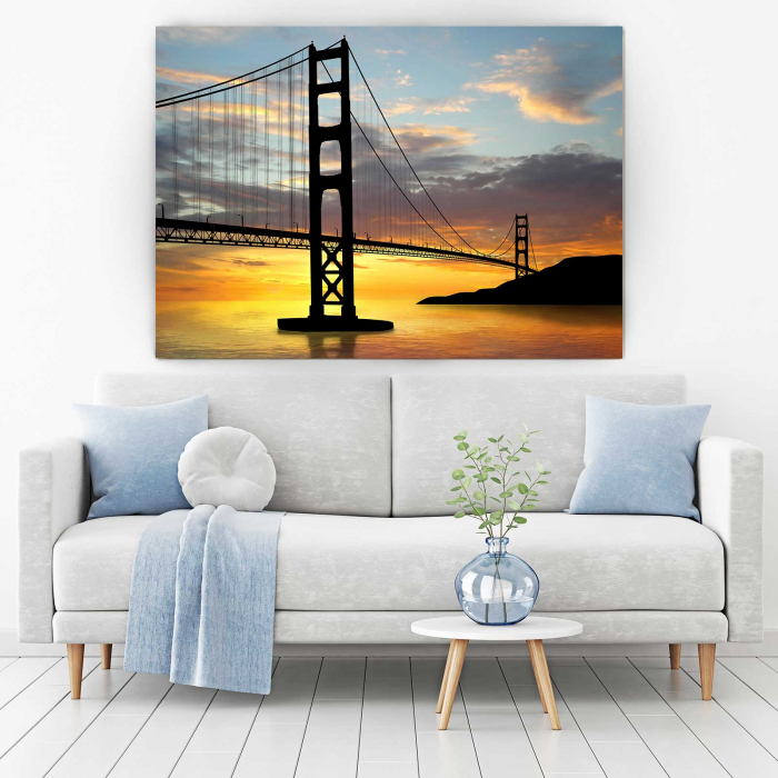Tablou Canvas - Pod Golden Gate 1